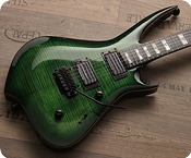 Zerberus Guitars Chimaira 2015 Emerald Green Burst