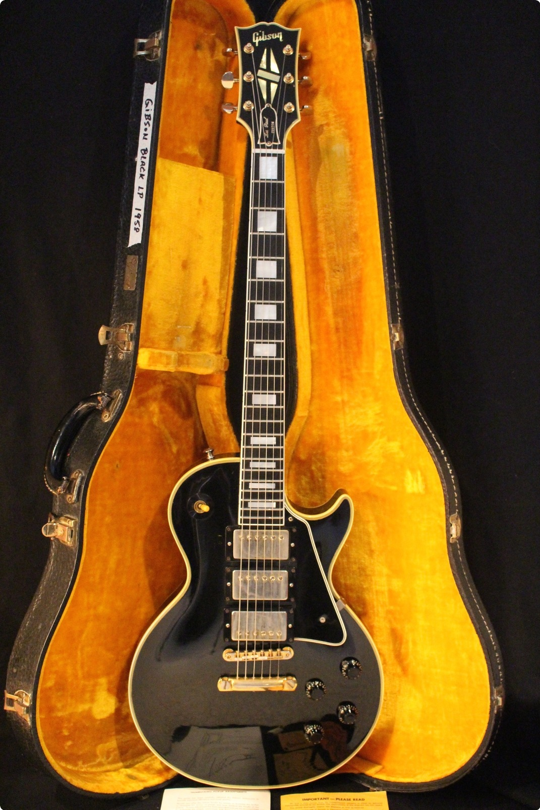 Gibson les paul custom serial hookup