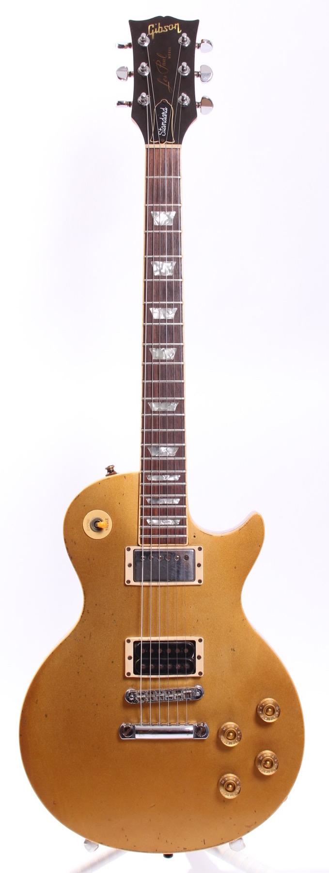 gibson les paul standard 1978 goldtop guitar for sale yeahman 39 s guitars. Black Bedroom Furniture Sets. Home Design Ideas