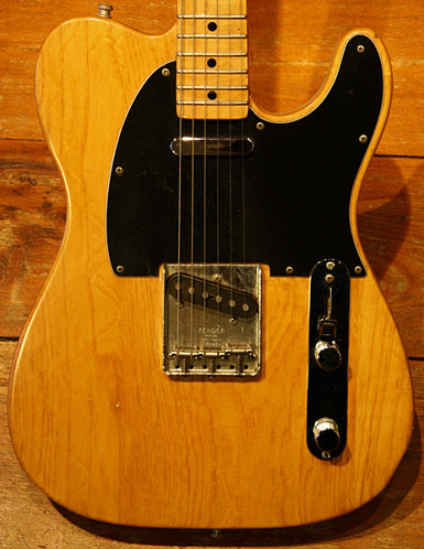fender telecaster 1973 natural guitar for sale musikhaus jever. Black Bedroom Furniture Sets. Home Design Ideas