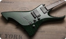 Zerberus Guitars Ulthane 2015 Emerald Green