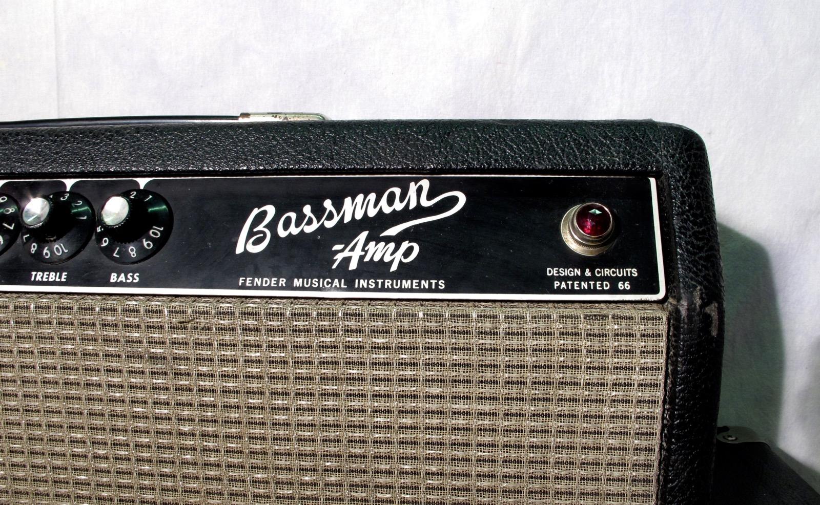 fender bassman 1967 black tolex amp for sale andy baxter bass guitars ltd. Black Bedroom Furniture Sets. Home Design Ideas