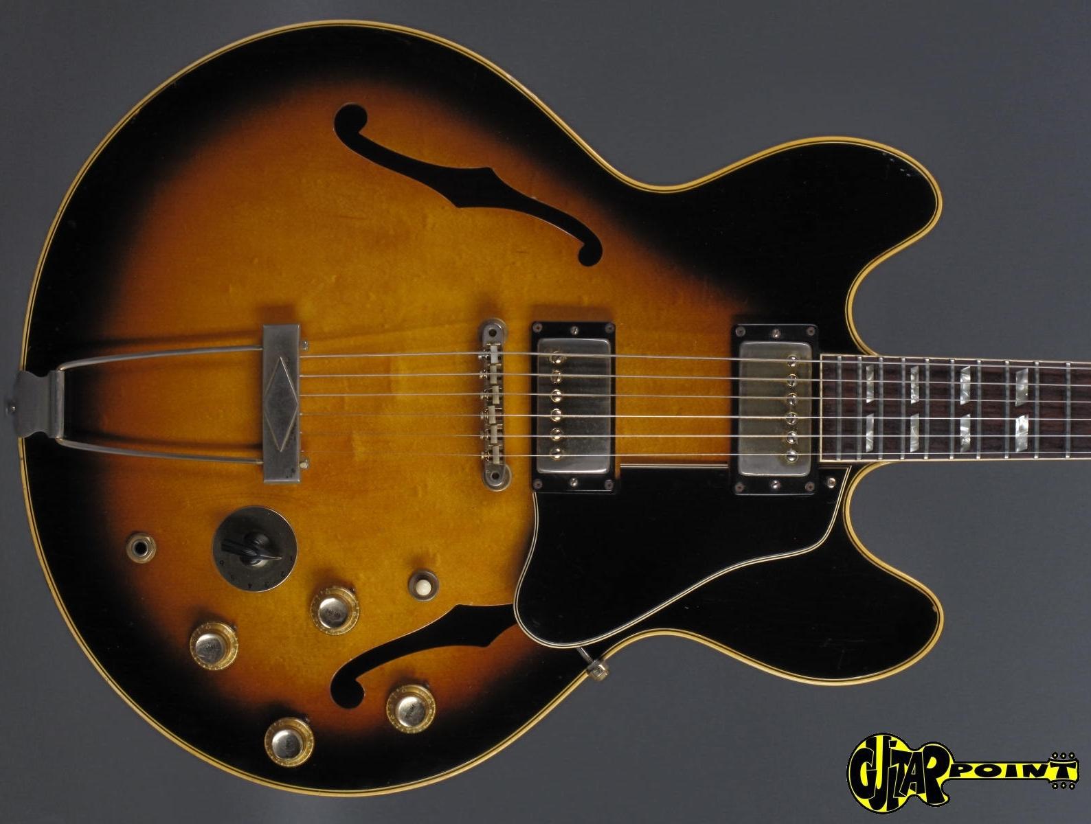 gibson es 345 tdsv stereo 1967 sunburst guitar for sale guitarpoint. Black Bedroom Furniture Sets. Home Design Ideas