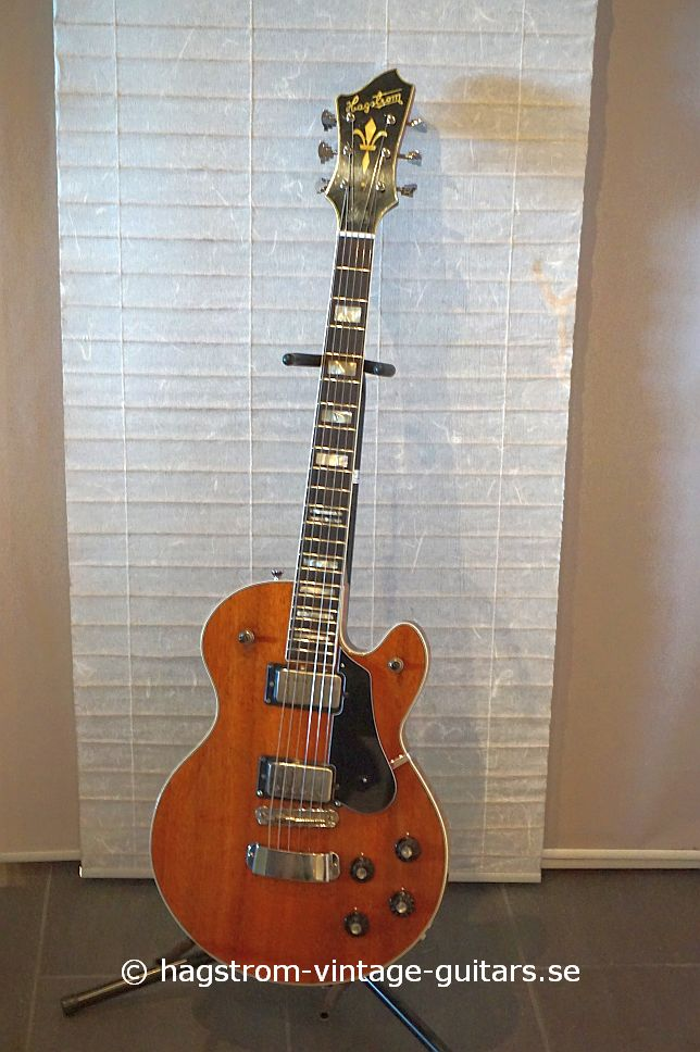 hagstrom swede 1978 mahogany guitar for sale hagstrom vintage. Black Bedroom Furniture Sets. Home Design Ideas