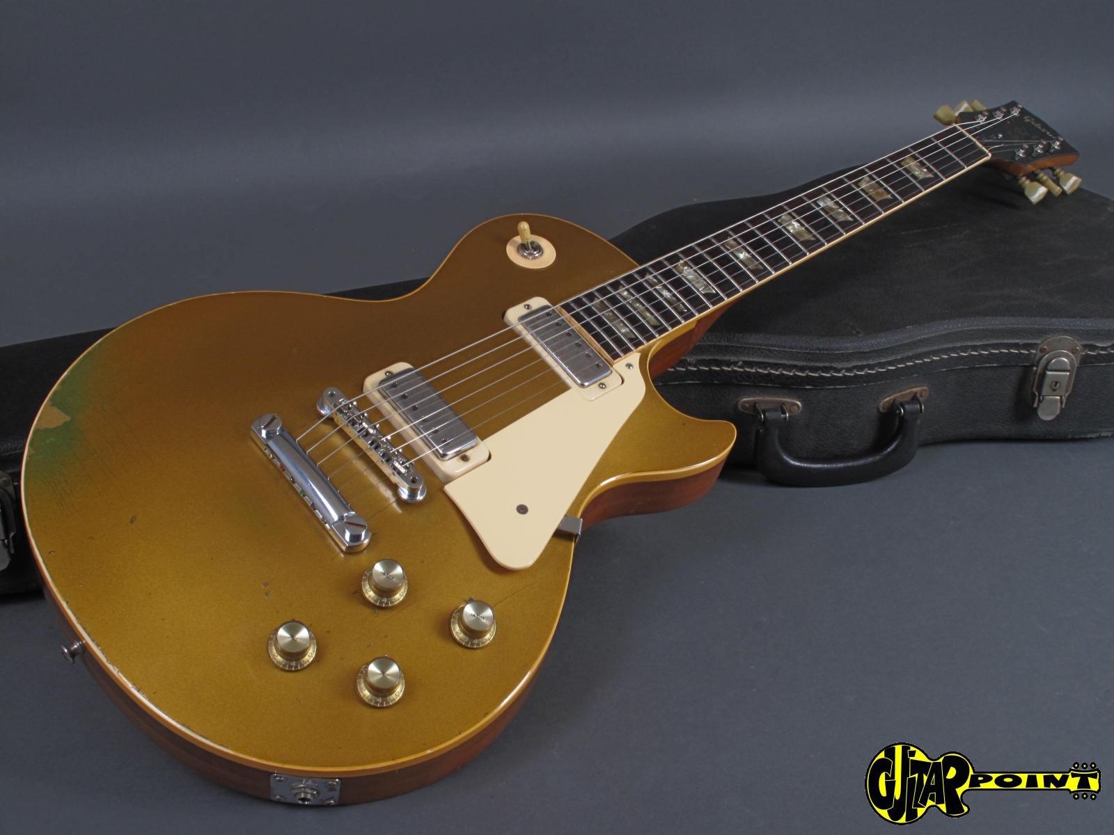 Gibson Les Paul Deluxe Goldtop : gibson les paul deluxe 1973 goldtop gold metallic guitar for sale guitarpoint ~ Russianpoet.info Haus und Dekorationen