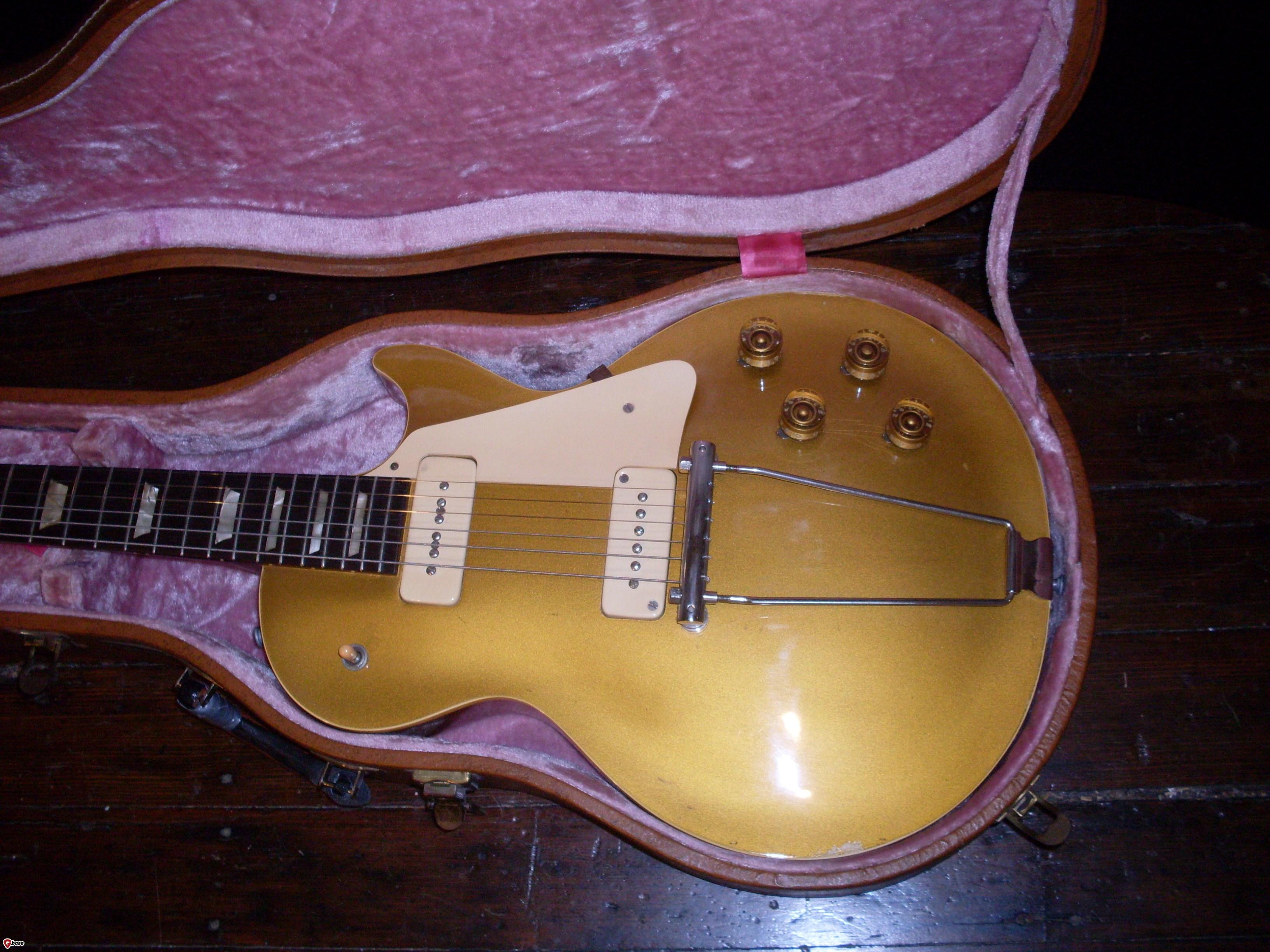 gibson les paul standard 1952 gold guitar for sale ok guitars. Black Bedroom Furniture Sets. Home Design Ideas