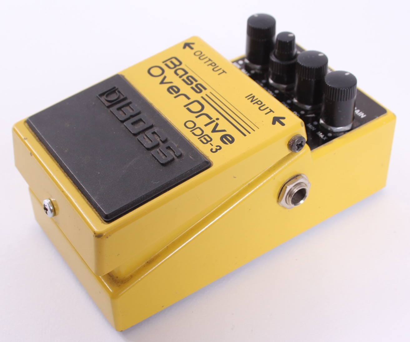 boss bass overdrive odb 3 2001 effect pedal for sale yeahman 39 s guitars. Black Bedroom Furniture Sets. Home Design Ideas