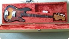 Fender Slab Board 62 Precision 1962 Sunburst