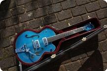 Gretsch G6120SH Brian Setzer Hot Rod 2015 Harbor Blue 2 Tone