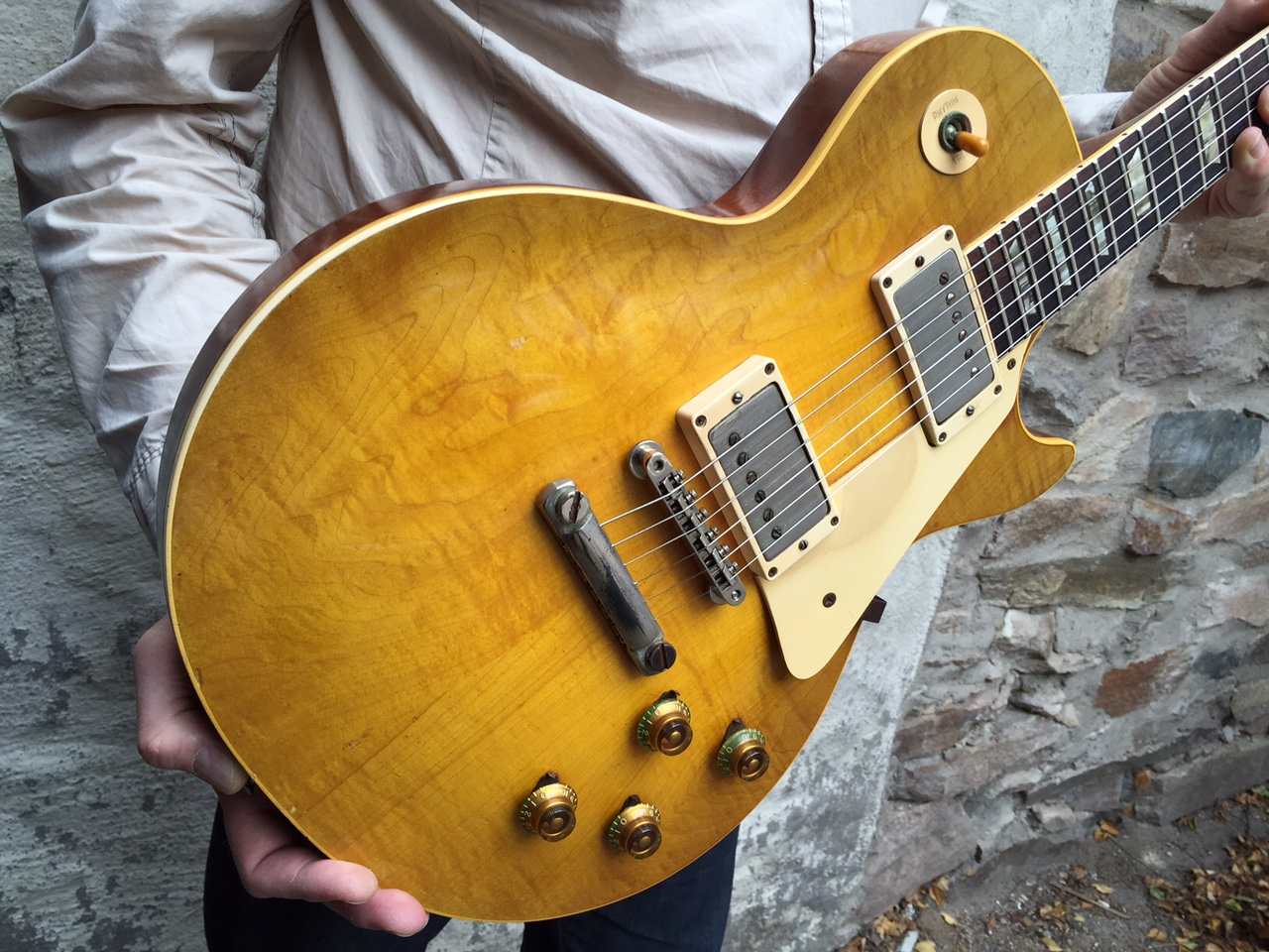 gibson les paul standard 1959 sunburst guitar for sale anders anderson guitars. Black Bedroom Furniture Sets. Home Design Ideas