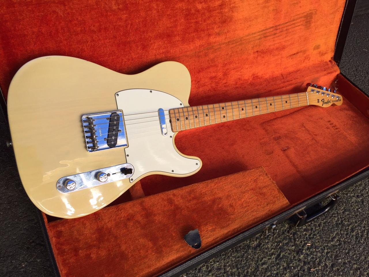 fender telecaster 1968 blonde guitar for sale anders anderson guitars. Black Bedroom Furniture Sets. Home Design Ideas