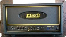Markbass 300 Classic All Valve Head Artist Owned 2009 Black