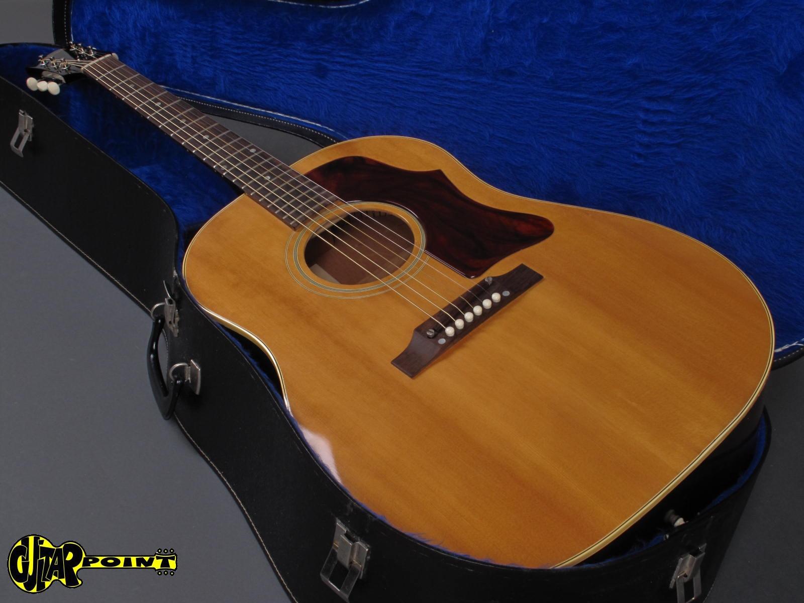 gibson j 50 1964 natural guitar for sale guitarpoint. Black Bedroom Furniture Sets. Home Design Ideas