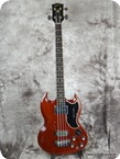 Gibson EB 3 1963 Cherry Red