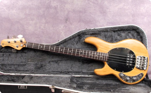 musicman stingray 1980 natural bass for sale andy baxter bass guitars ltd. Black Bedroom Furniture Sets. Home Design Ideas