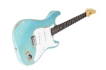 Franfret Guitars Outsider 2015 PolyurethaeBlue Sea