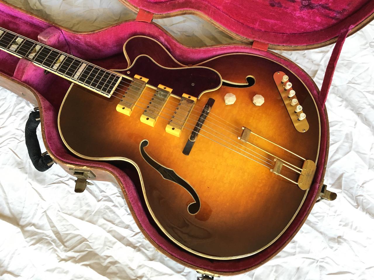 epiphone zephyr emperor regent 1953 sunburst guitar for sale atoyboy guitars. Black Bedroom Furniture Sets. Home Design Ideas