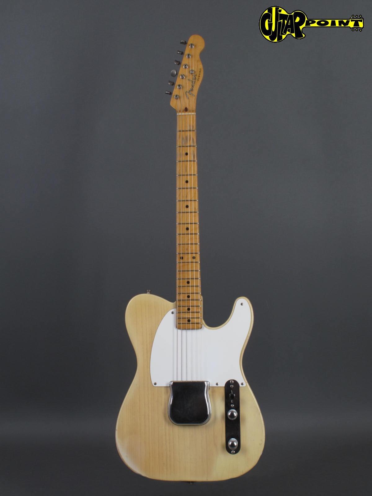 fender esquire telecaster 1954 blond guitar for sale guitarpoint. Black Bedroom Furniture Sets. Home Design Ideas