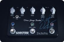 Lunastone Three Stage Rocket 2015
