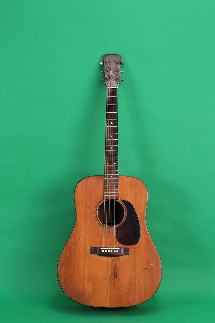 martin d 18 1943 natural guitar for sale jay rosen music. Black Bedroom Furniture Sets. Home Design Ideas