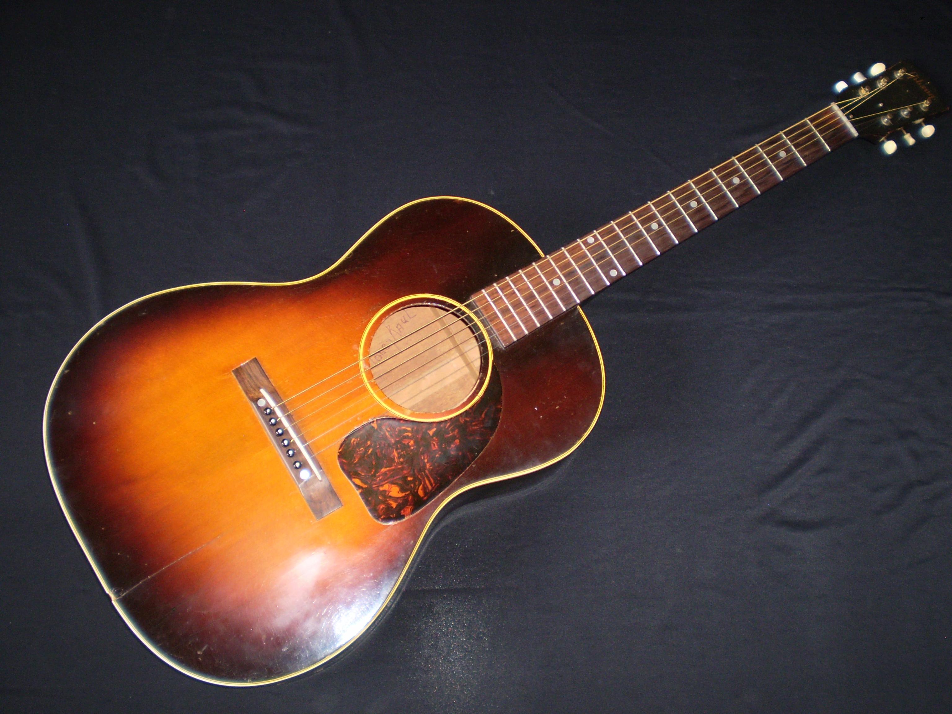 gibson lg2 1951 sunburst guitar for sale glenns guitars. Black Bedroom Furniture Sets. Home Design Ideas
