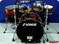 Sonor SQ2 Special Edition 2016 Special Nebula Finish High Gloss