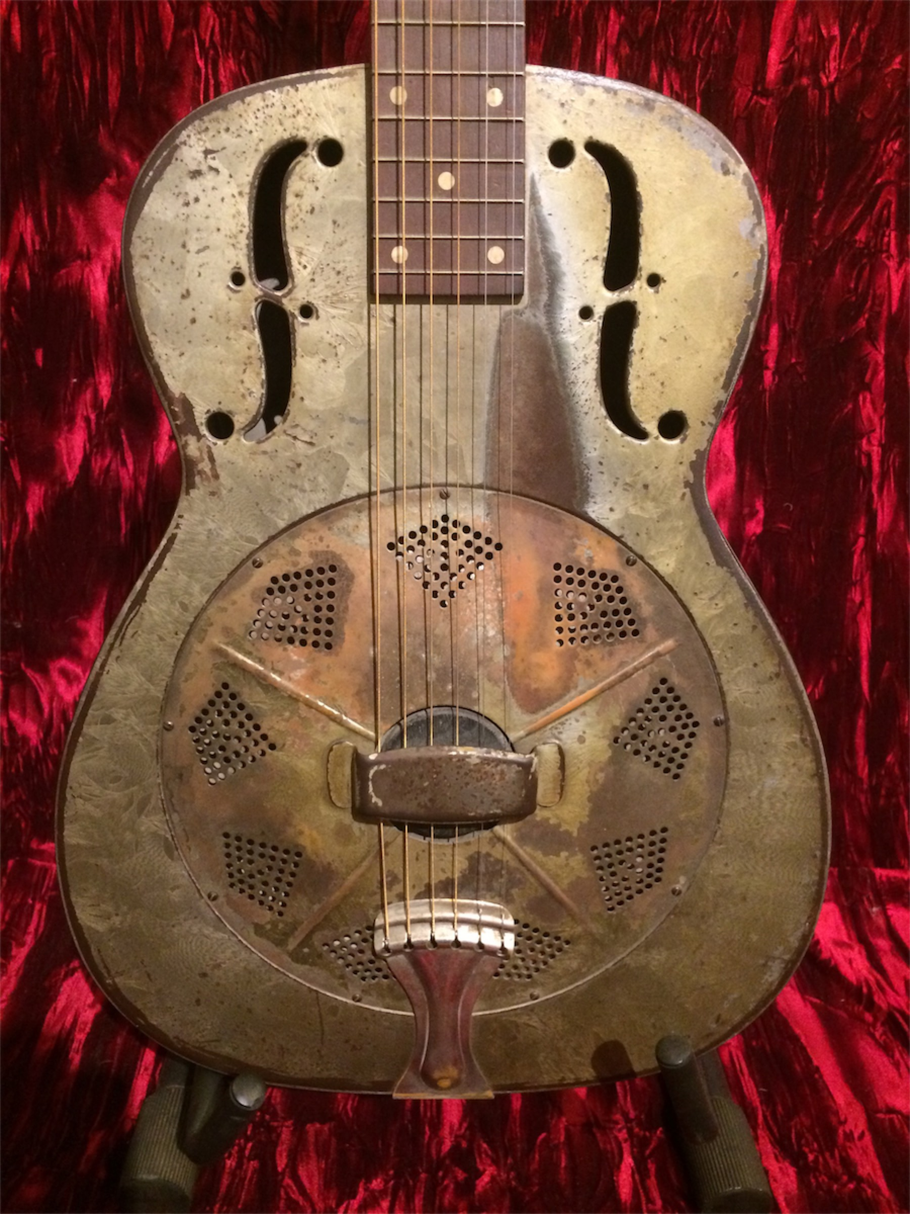 national dobro duolian squareneck 1934 frosted duco guitar for sale guitarsmojo. Black Bedroom Furniture Sets. Home Design Ideas