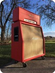 Marshall JMP 100 Super Lead 1971 Red