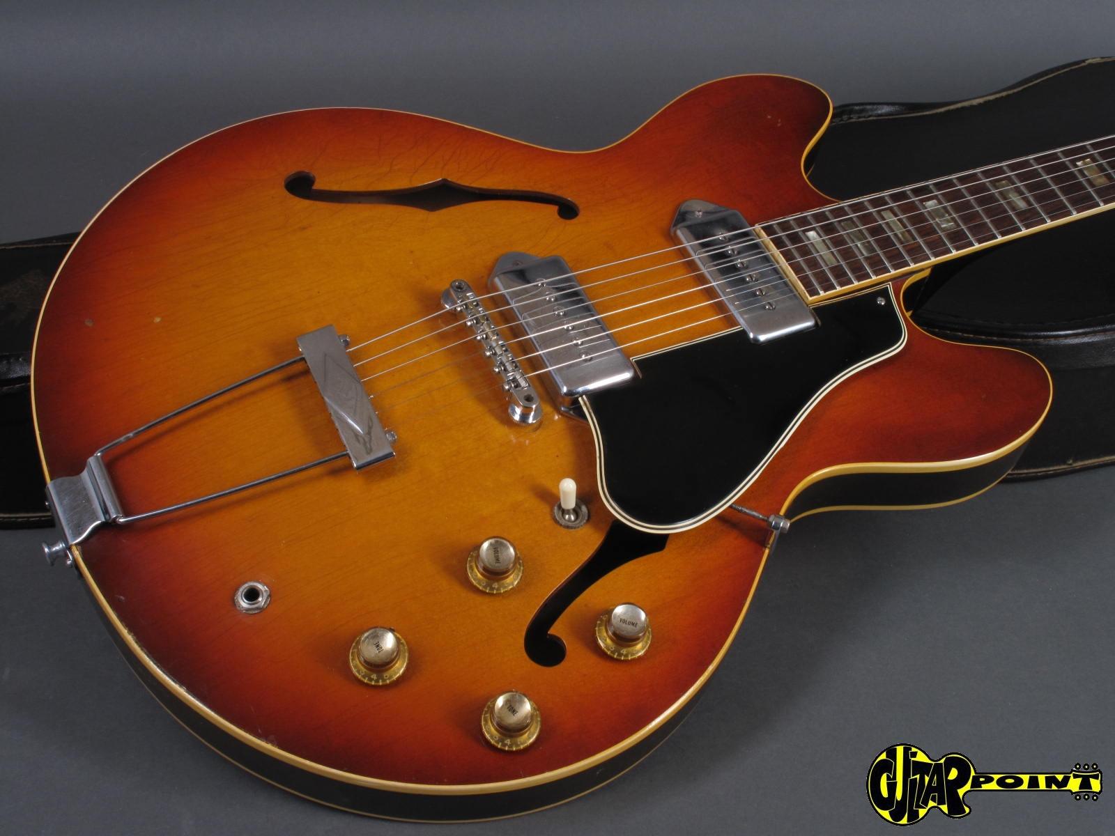 gibson es 330 td 1966 icetea sunburst guitar for sale guitarpoint. Black Bedroom Furniture Sets. Home Design Ideas