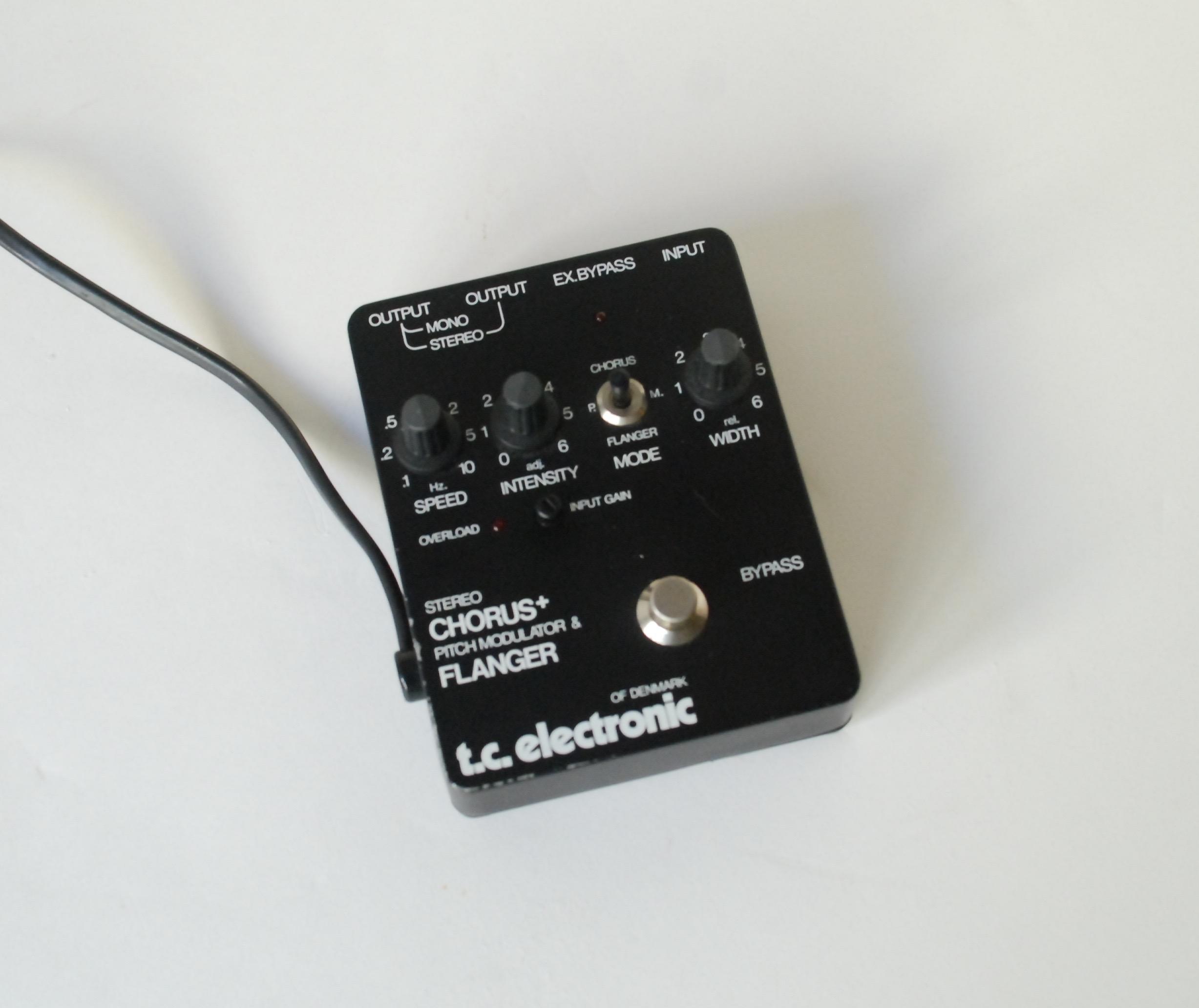 tc electronic scf st r o chorus flanger 1988 black effect pedal for sale bass n guitar. Black Bedroom Furniture Sets. Home Design Ideas