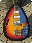 Vox Mark VII Acoustic Teardrop 12 String 1968 3 Tone Burst