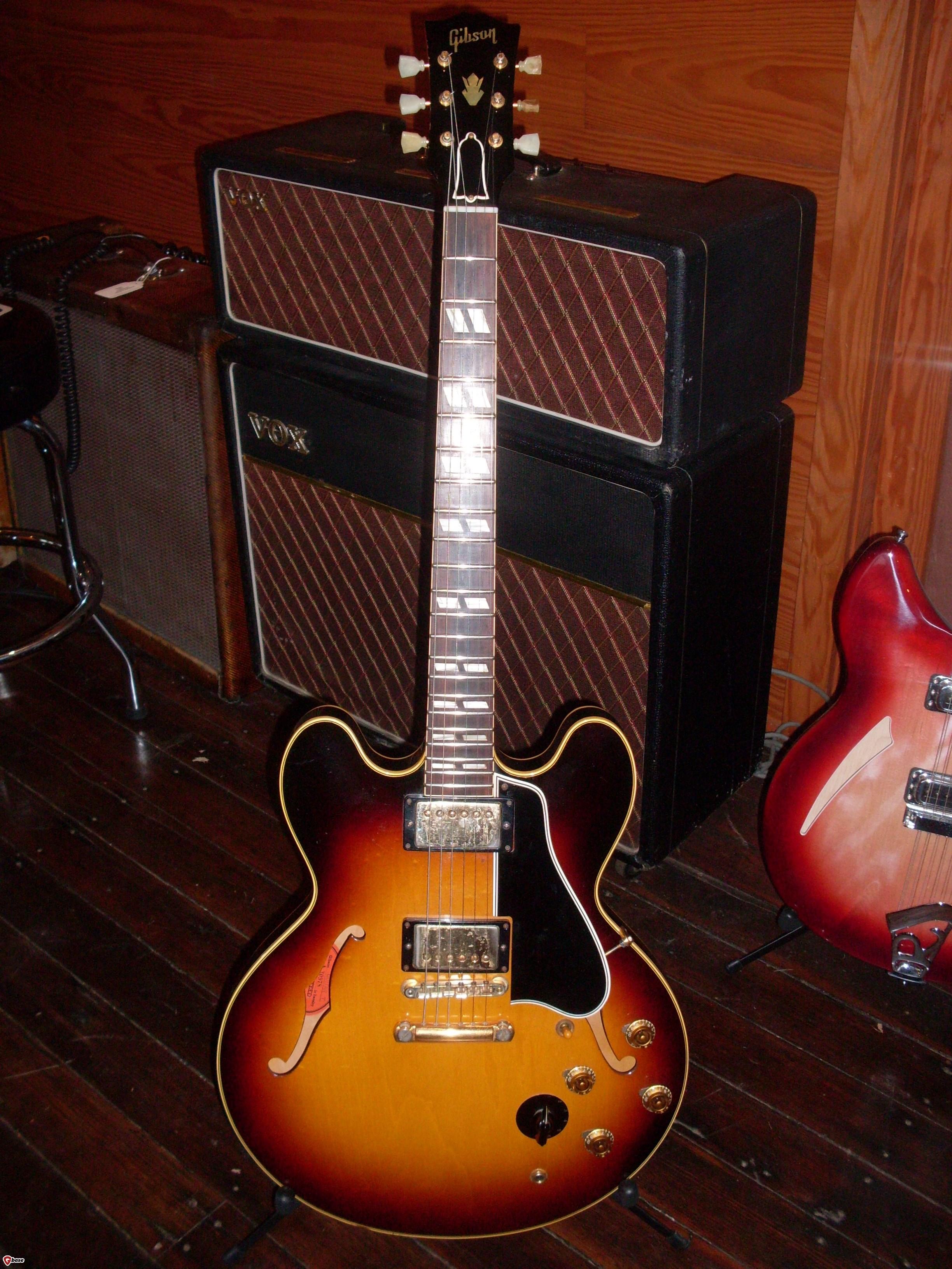 gibson es 345 1959 sunburst guitar for sale ok guitars. Black Bedroom Furniture Sets. Home Design Ideas