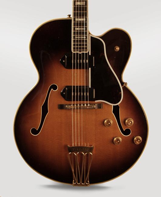 gibson byrdland 1957 sunburst guitar for sale retrofret vintage guitars. Black Bedroom Furniture Sets. Home Design Ideas