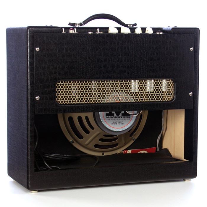 magnatone varsity 12 reverb tv style 2015 black amp for sale. Black Bedroom Furniture Sets. Home Design Ideas