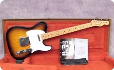 Fender Custom Shop Masterbuilt 50s Tele Closet Classic 2002 Sunburst
