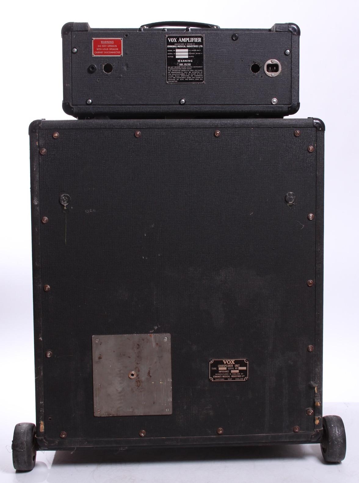 vox jmi ac100 foundation bass 1966 amp for sale yeahman 39 s guitars. Black Bedroom Furniture Sets. Home Design Ideas