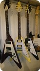 Greco Flying V 1980 Yellow Red zebra