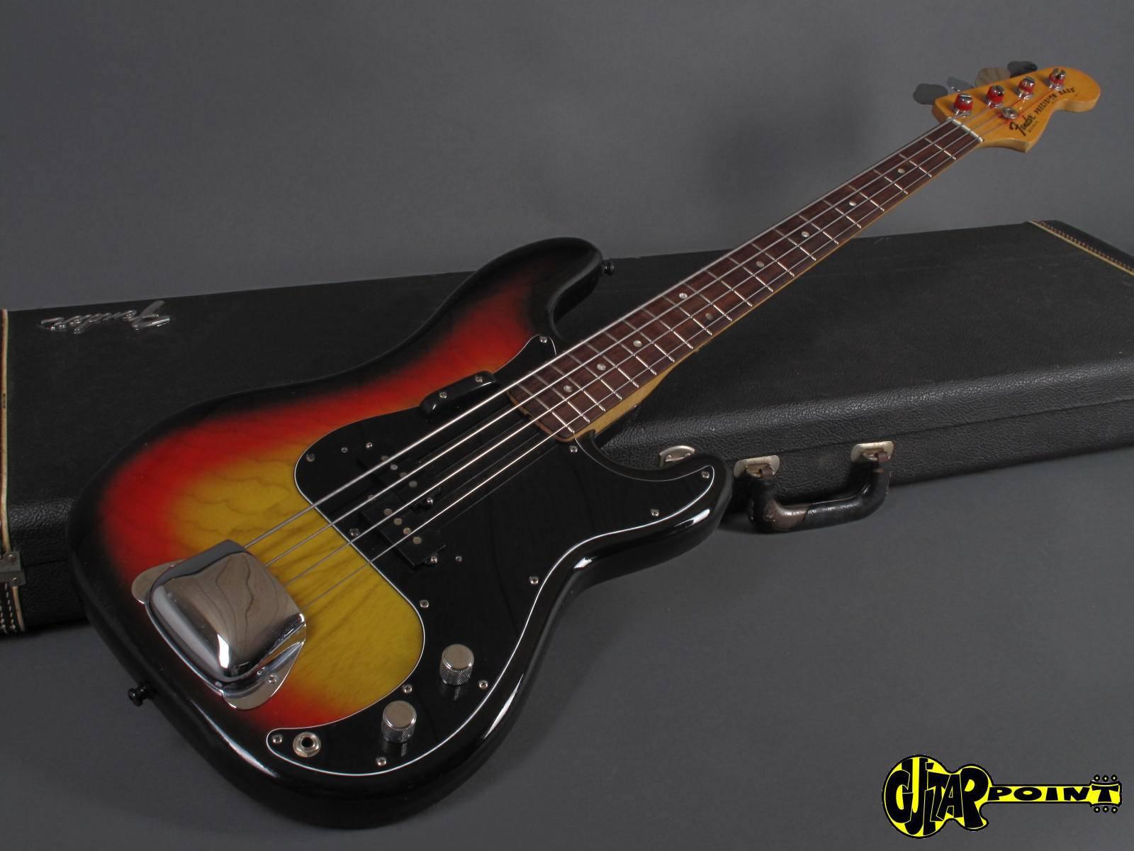 fender precision p bass 1978 3t sunburst bass for sale guitarpoint. Black Bedroom Furniture Sets. Home Design Ideas