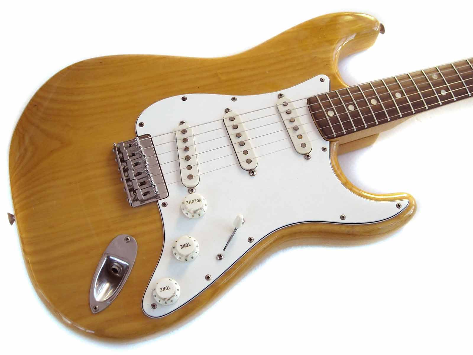 fender stratocaster 1973 natural guitar for sale wutzdog guitars. Black Bedroom Furniture Sets. Home Design Ideas
