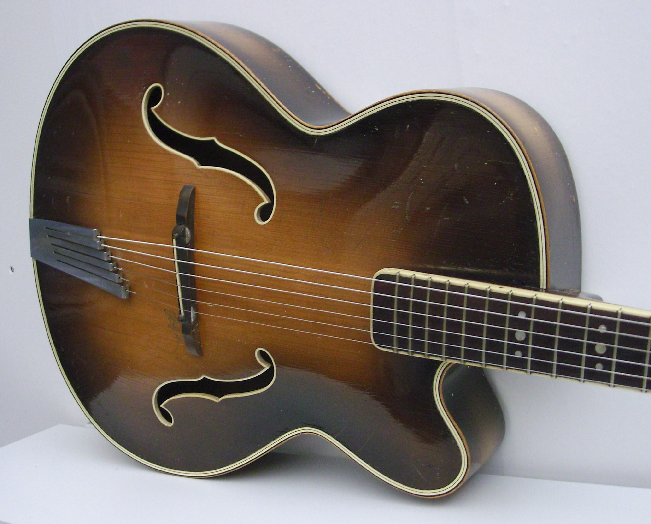 hofner president 1952 brunette guitar for sale cd guitars. Black Bedroom Furniture Sets. Home Design Ideas