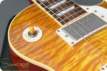 Gibson Custom Shop Les Paul Standard 1958 Custom Shop Art Historic Reissue R8 Authentic 1997 Amber