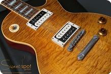 Gibson Custom Shop Les Paul Standard 1958 Art Historic Reissue R8 AFD Slash 1997 Dark Amber Burst