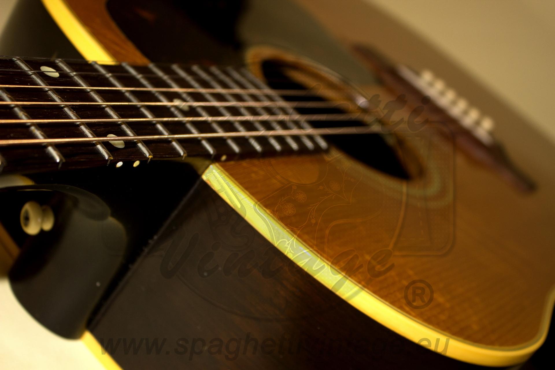 gibson j 50 j50 1963 natural guitar for sale spaghettivintage. Black Bedroom Furniture Sets. Home Design Ideas