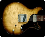 Deimel Guitarworks DOUBLESTAR RAWTONE TOBACCO SUNBURST 2016 TOBACCO SUNBURST