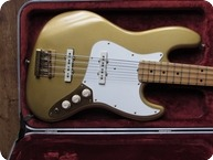 Fender Jazz Bass Gold On Gold 1982 Gold