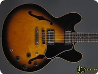 Gibson ES 335 Dot Reissue 1982 Sunburst