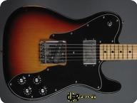 Fender Telecaster Custom 1973 3 tone Sunburst