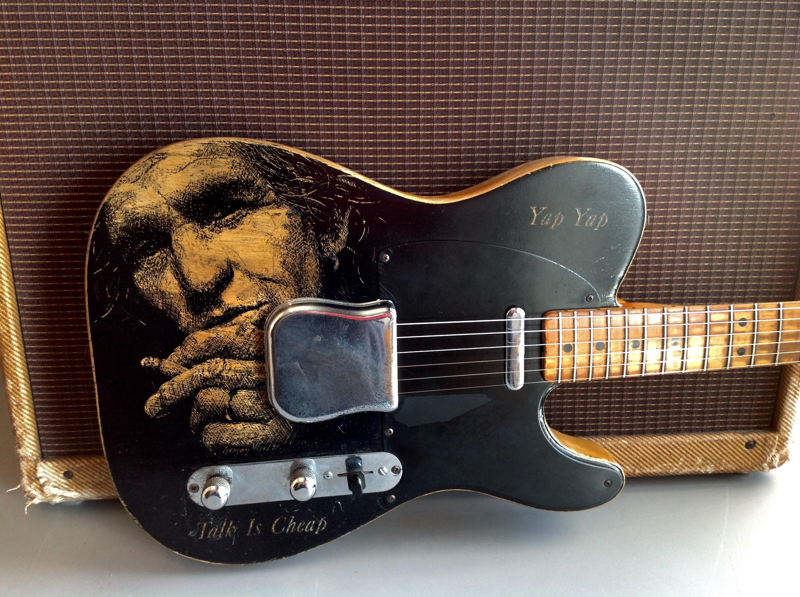 fender telecaster 1952 guitar for sale guitar exchange. Black Bedroom Furniture Sets. Home Design Ideas