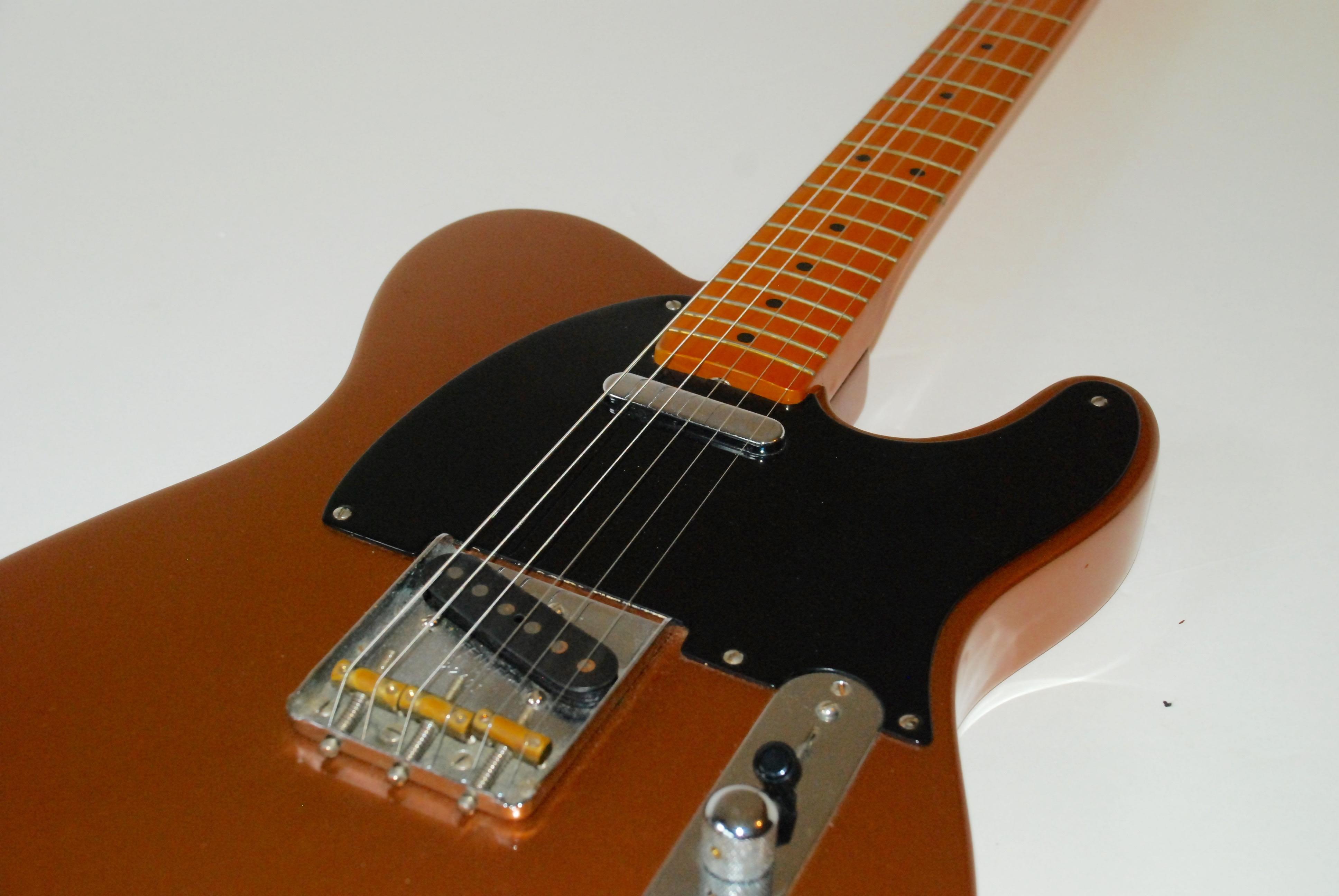 fender telecaster american vintage reissue 52 1997 copper guitar for sale bass n guitar. Black Bedroom Furniture Sets. Home Design Ideas