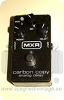 Mxr Carbon Copy Analog Delay 2012